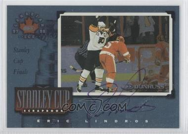1997-98 Donruss Canadian Ice - Stanley Cup Scrapbook #32 - Eric Lindros /750