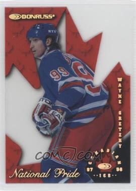 1997-98 Donruss Canadian Ice National Pride Die-Cut #1 - Wayne Gretzky /1997