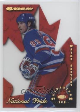 1997-98 Donruss Canadian Ice National Pride Die-Cut #1 - Wayne Gretzky /1997