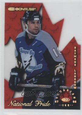 1997-98 Donruss Canadian Ice National Pride Die-Cut #21 - Daymond Langkow /1997