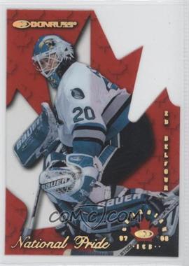 1997-98 Donruss Canadian Ice National Pride Die-Cut #22 - Ed Belfour /1997