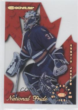 1997-98 Donruss Canadian Ice National Pride Die-Cut #27 - Curtis Joseph /1997