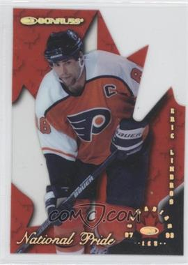 1997-98 Donruss Canadian Ice National Pride Die-Cut #8 - Eric Lindros /1997