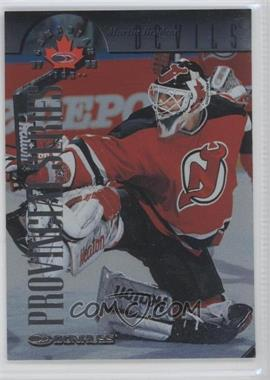 1997-98 Donruss Canadian Ice Provincial Series Player's Club #42 - Martin Brodeur