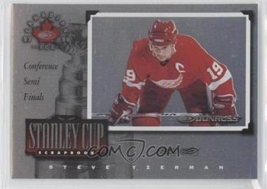 1997-98 Donruss Canadian Ice Stanley Cup Scrapbook #19 - Steve Yzerman /1500