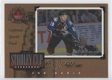 1997-98 Donruss Canadian Ice Stanley Cup Scrapbook #3 - Joe Sakic /2000