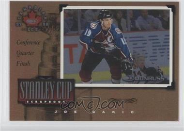 1997-98 Donruss Canadian Ice Stanley Cup Scrapbook #3 - Joe Sakic /2000