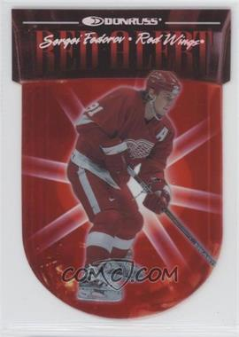1997-98 Donruss Red Alert #3 - Sergei Fedorov /5000