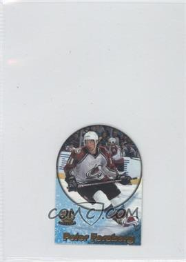 1997-98 Pacific Crown Collection - Card-Supials - Mini #4A - Peter Forsberg