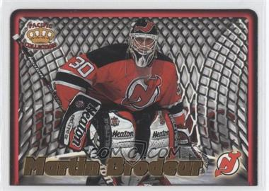 1997-98 Pacific Crown Collection - In the Cage #12 - Martin Brodeur