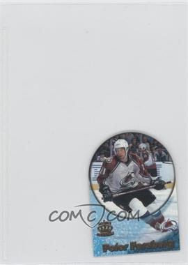 1997-98 Pacific Crown Collection Card-Supials Mini #4A - Peter Forsberg
