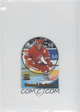1997-98 Pacific Crown Collection Card-Supials Mini #6A - Sergei Fedorov