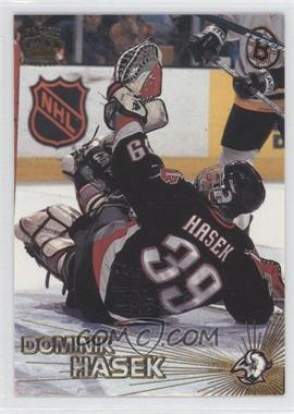 1997-98 Pacific Crown Collection Fall Expo In the Cage #39 - Dominik Hasek