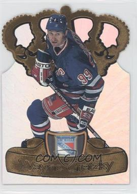 1997-98 Pacific Crown Collection Gold-Crown Die-Cuts #15 - Wayne Gretzky