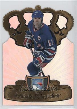 1997-98 Pacific Crown Collection Gold-Crown Die-Cuts #16 - Mark Messier