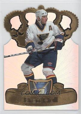 1997-98 Pacific Crown Collection Gold-Crown Die-Cuts #19 - Brett Hull