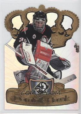 1997-98 Pacific Crown Collection Gold-Crown Die-Cuts #3 - Dominik Hasek