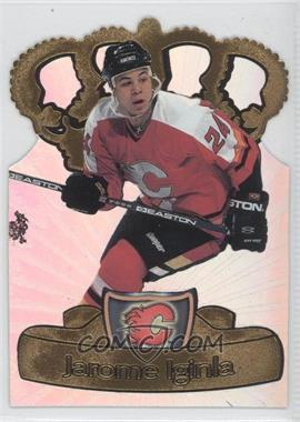 1997-98 Pacific Crown Collection Gold-Crown Die-Cuts #5 - Jarome Iginla