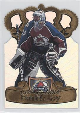 1997-98 Pacific Crown Collection Gold-Crown Die-Cuts #8 - Patrick Roy