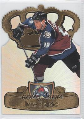 1997-98 Pacific Crown Collection Gold-Crown Die-Cuts #9 - Joe Sakic