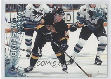 1997-98 Pacific Crown Collection Ice Blue #128 - Markus Naslund