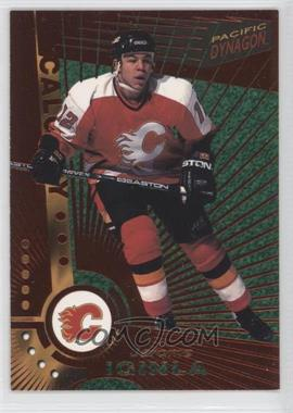 1997-98 Pacific Dynagon - [Base] - Copper #17 - Jarome Iginla