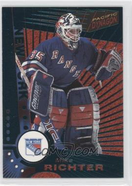 1997-98 Pacific Dynagon - [Base] - Emerald #82 - Mike Richter