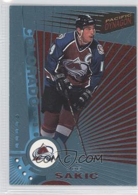 1997-98 Pacific Dynagon - [Base] - Ice Blue #34 - Joe Sakic