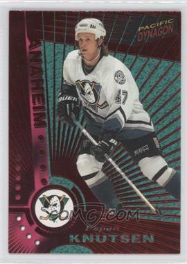 1997-98 Pacific Dynagon - [Base] - Red #N/A - Espen Knutsen