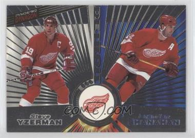 1997-98 Pacific Dynagon - [Base] - Silver #139 - Brendan Shanahan, Steve Yzerman