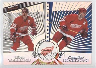 1997-98 Pacific Dynagon - Tandems #26 - Vladimir Konstantinov, Steve Yzerman, Brendan Shanahan