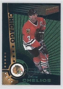 1997-98 Pacific Dynagon Emerald #25 - Chris Chelios