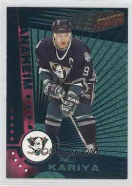 1997-98 Pacific Dynagon Emerald #3 - Paul Kariya