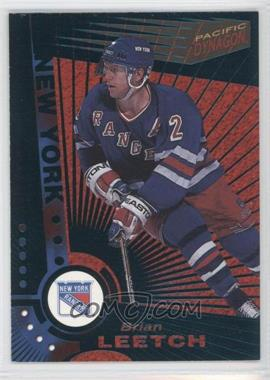 1997-98 Pacific Dynagon Emerald #80 - Brian Leetch