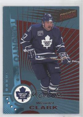 1997-98 Pacific Dynagon Ice Blue #121 - Wendel Clark