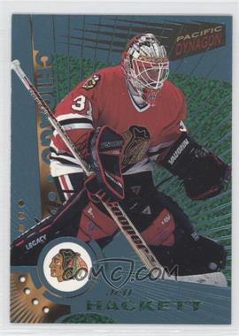 1997-98 Pacific Dynagon Ice Blue #27 - Jeff Hackett
