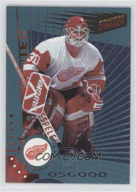 1997-98 Pacific Dynagon Ice Blue #43 - Chris Osgood