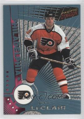 1997-98 Pacific Dynagon Ice Blue #90 - John LeClair