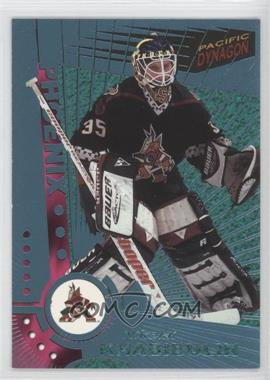 1997-98 Pacific Dynagon Ice Blue #96 - Nikolai Khabibulin