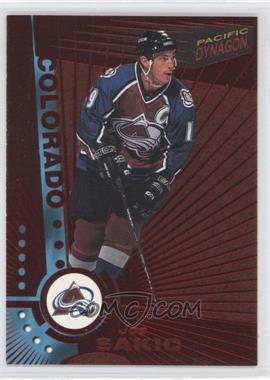 1997-98 Pacific Dynagon Red #34 - Joe Sakic