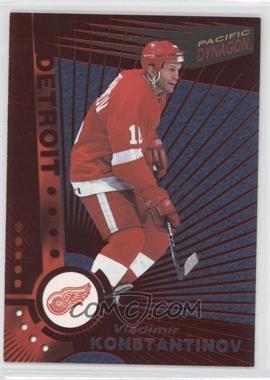 1997-98 Pacific Dynagon Red #42 - Vladimir Konstantinov