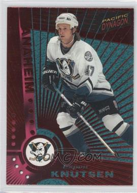 1997-98 Pacific Dynagon Red #N/A - Espen Knutsen