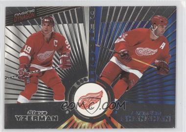 1997-98 Pacific Dynagon Silver #139 - Brendan Shanahan, Steve Yzerman