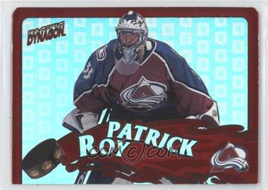 1997-98 Pacific Dynagon Stonewallers #6 - Patrick Roy