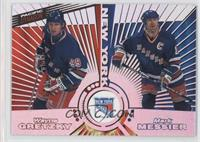 Wayne Gretzky, Mark Messier, Brian Leetch