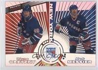 Wayne Gretzky, Mark Messier, Brian Leetch