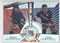 Wayne Gretzky, Mark Messier