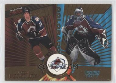 1997-98 Pacific Dynagon #138 - Peter Forsberg, Patrick Roy