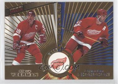 1997-98 Pacific Dynagon #139 - Steve Yzerman, Brendan Shanahan