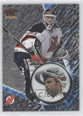 1997-98 Pacific Invincible - [Base] - Silver #76 - Martin Brodeur
